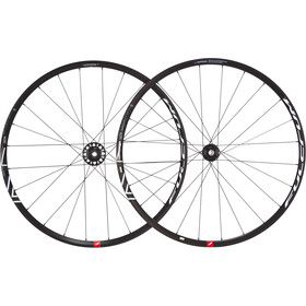"Fulcrum Racing 7 DB Racefiets Wielset 28"" 2-speed Fit Shimano CL, black/white"